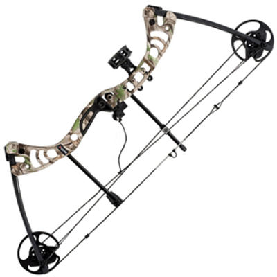 Leader Accessories Compound Bow 30-55lbs with Max Speed 296fps